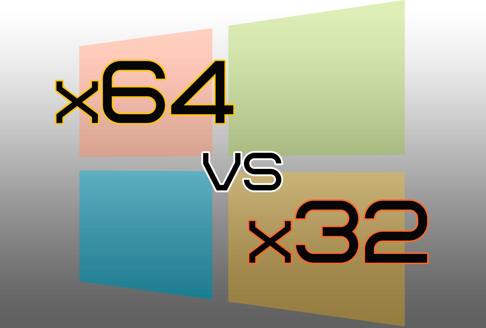 Какую Windows поставить: 32-х или 64-х разрядную
